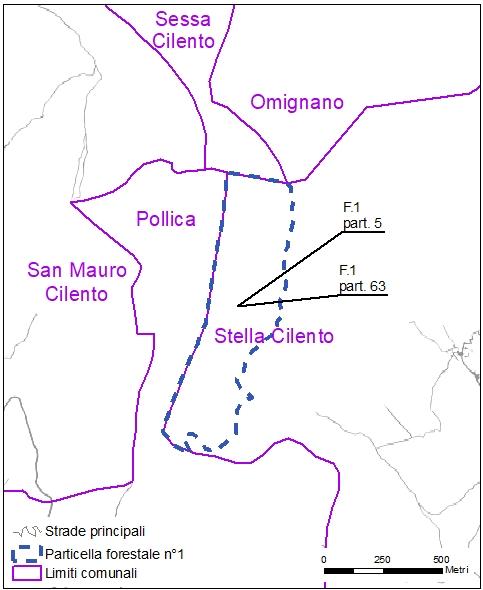 Stella cilento particelle catastali (pf1)