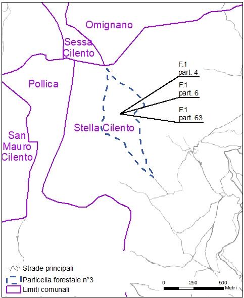 Stella cilento particelle catastali (pf3)