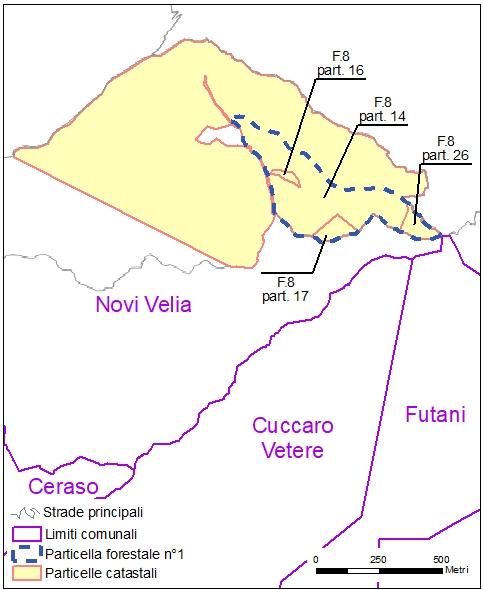 Ceraso – Novi Velia – particelle catastali (pf1)