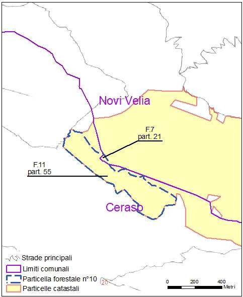 Ceraso – Novi Velia – particelle catastali (pf10)