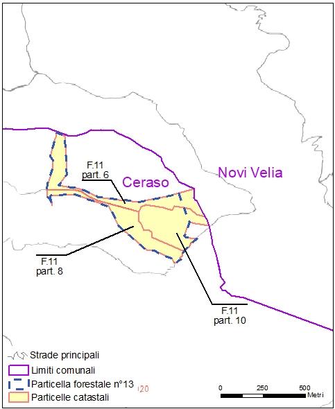 Ceraso – Novi Velia – particelle catastali (pf13)