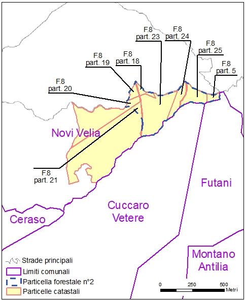 Ceraso – Novi Velia – particelle catastali (pf2)