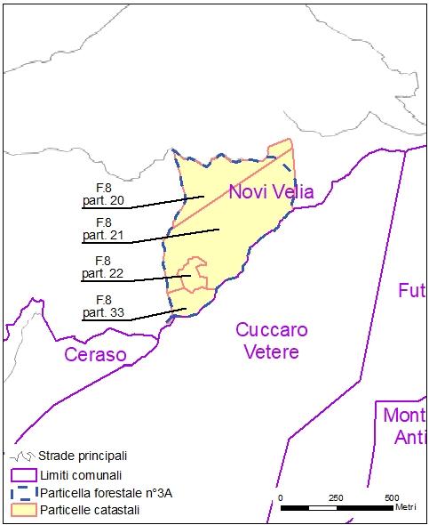 Ceraso – Novi Velia – particelle catastali (pf3A)
