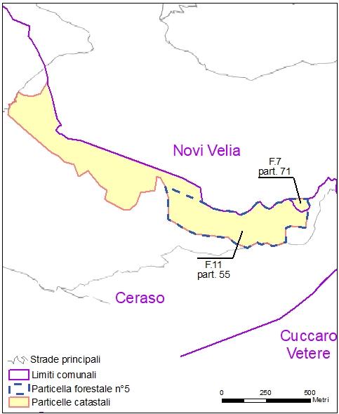 Ceraso – Novi Velia – particelle catastali (pf5)