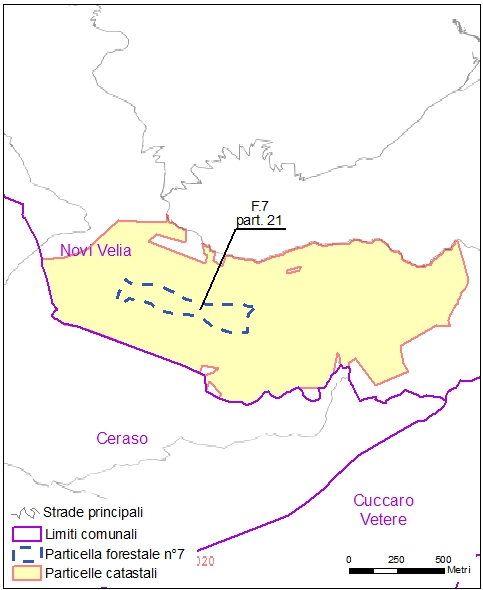 Ceraso – Novi Velia – particelle catastali (pf7)