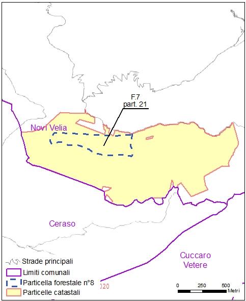 Ceraso – Novi Velia – particelle catastali (pf8)