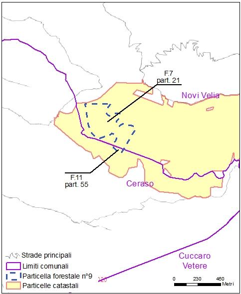 Ceraso – Novi Velia – particelle catastali (pf9)