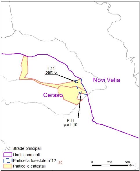 Ceraso – Novi Velia – particelle catastali (pf12)