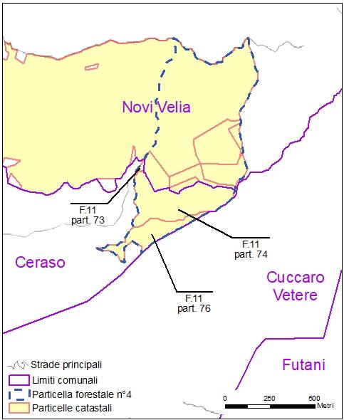 Ceraso – particelle catastali (pf4)